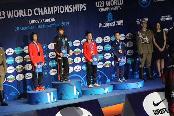 Jade Dufour wins Bronze at the 2019 U-23 World Championships