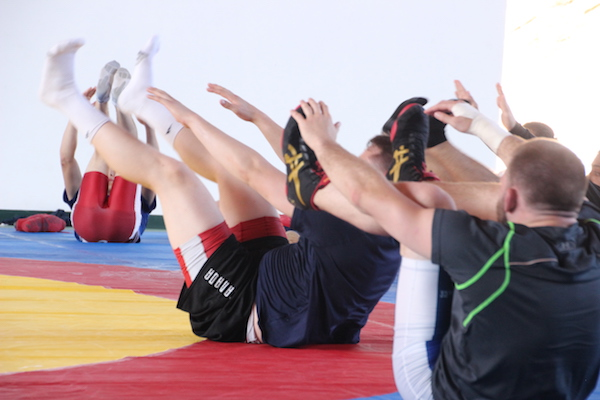 Wrestling Training Camps