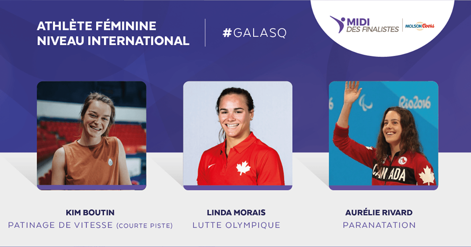 Linda Morais – Nominated for International Female Athlete of the Year