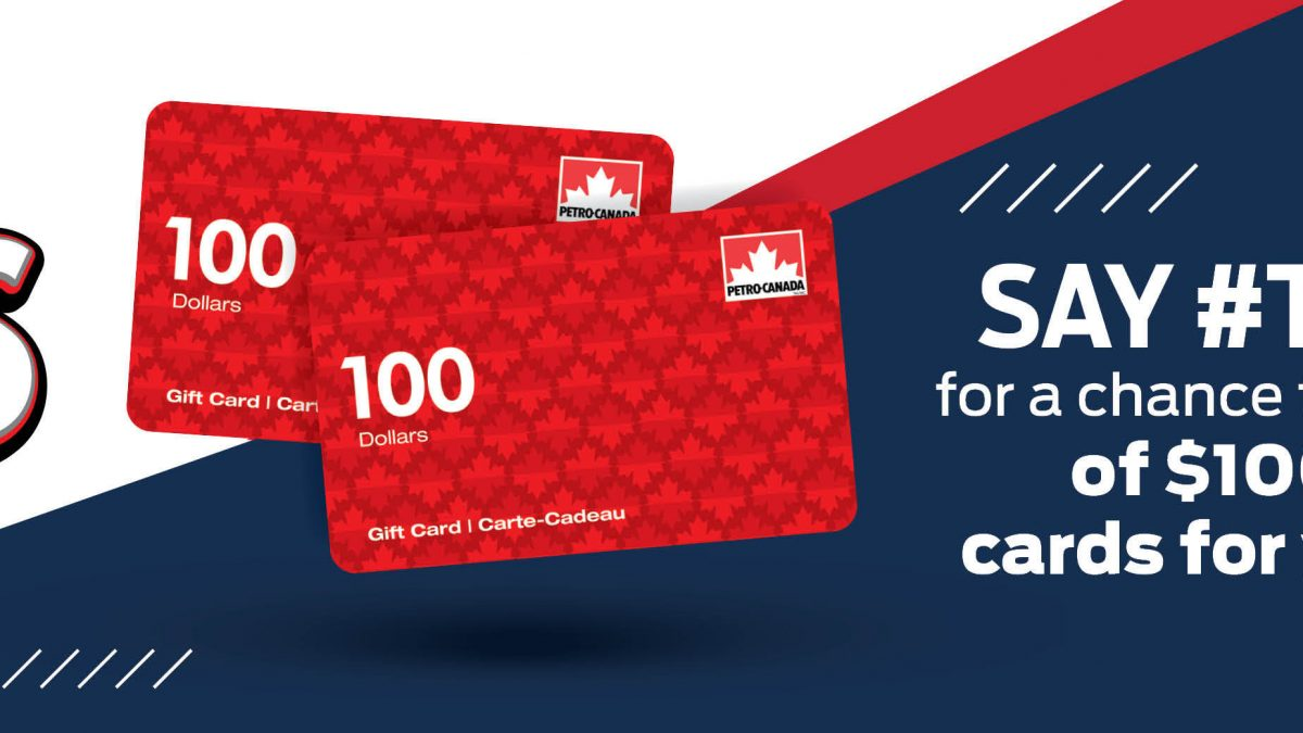 Say #ThanksCoach for a chance to win a gift from Petro-Canada!
