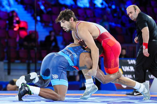 Quebec Wrestlers at the 2021 Senior World Championships